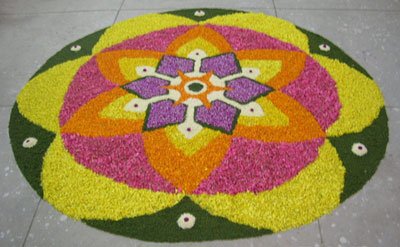 Athathapoo - pookkalam flower design