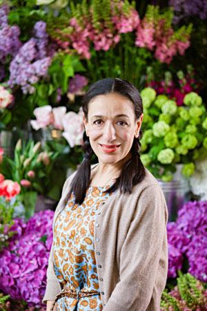 Florist Kally Ellis of McQueens